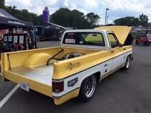 "Level 7 Motorsports ""LSM Shop Truck"" 1978 Chevy C10 on Forgeline GA3 Wheels"