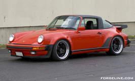 Porsche 930 Turbo Targa on Forgeline RS3 Wheels