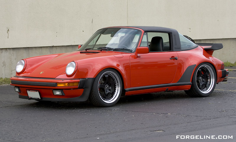 1986 Porsche 911 | Porsche 930 Turbo Targa on Forgeline RS3 Wheels