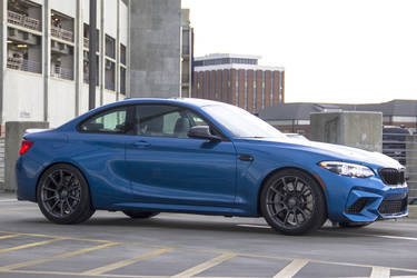 2019 BMW M2   Dinan Club Edition BMW M2 on Forgeline One Piece Forged Monoblock GTD1 5-Lug Wheels