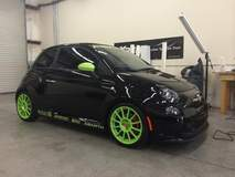 Fiat Abarth with XPEL ULTIMATE paint protection film
