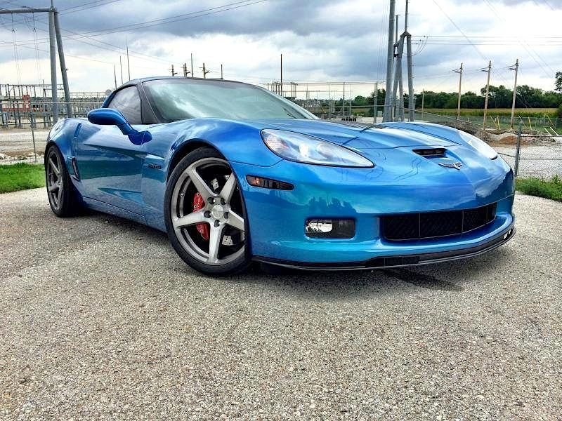 2010 Chevrolet Corvette | Joe Cox's C6 Z06 Corvette on Forgeline One Piece Forged Monoblock CF1 Wheels