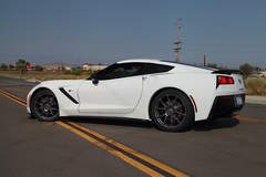 Power Automedia's Project C700 Procharged Corvette Stingray on Forgeline One Piece Forged Monoblock GA1R Wheels