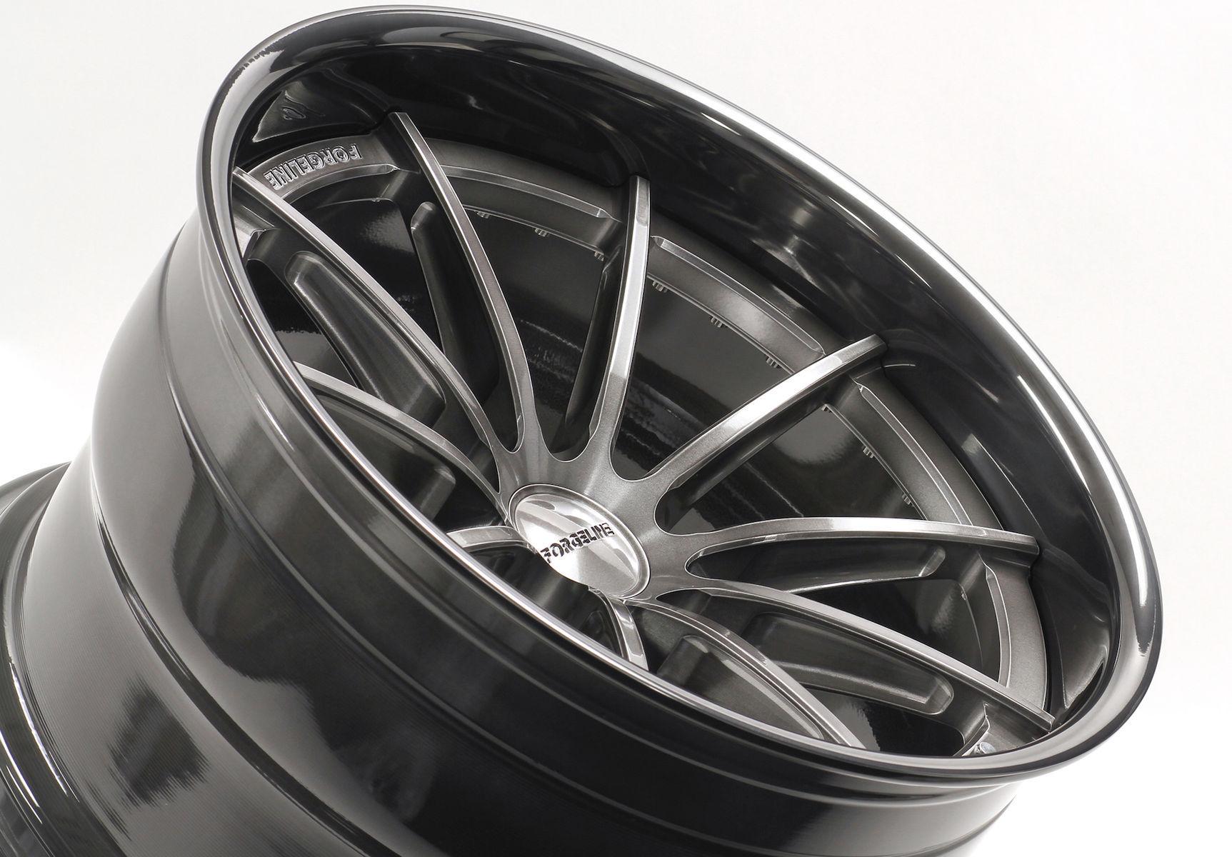 |  Forgeline GT3C Transparent Smoke & Black Pearl