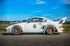 Mick Cote's Porsche 911 Turbo Slant Nose on Forgeline WC3R Wheels