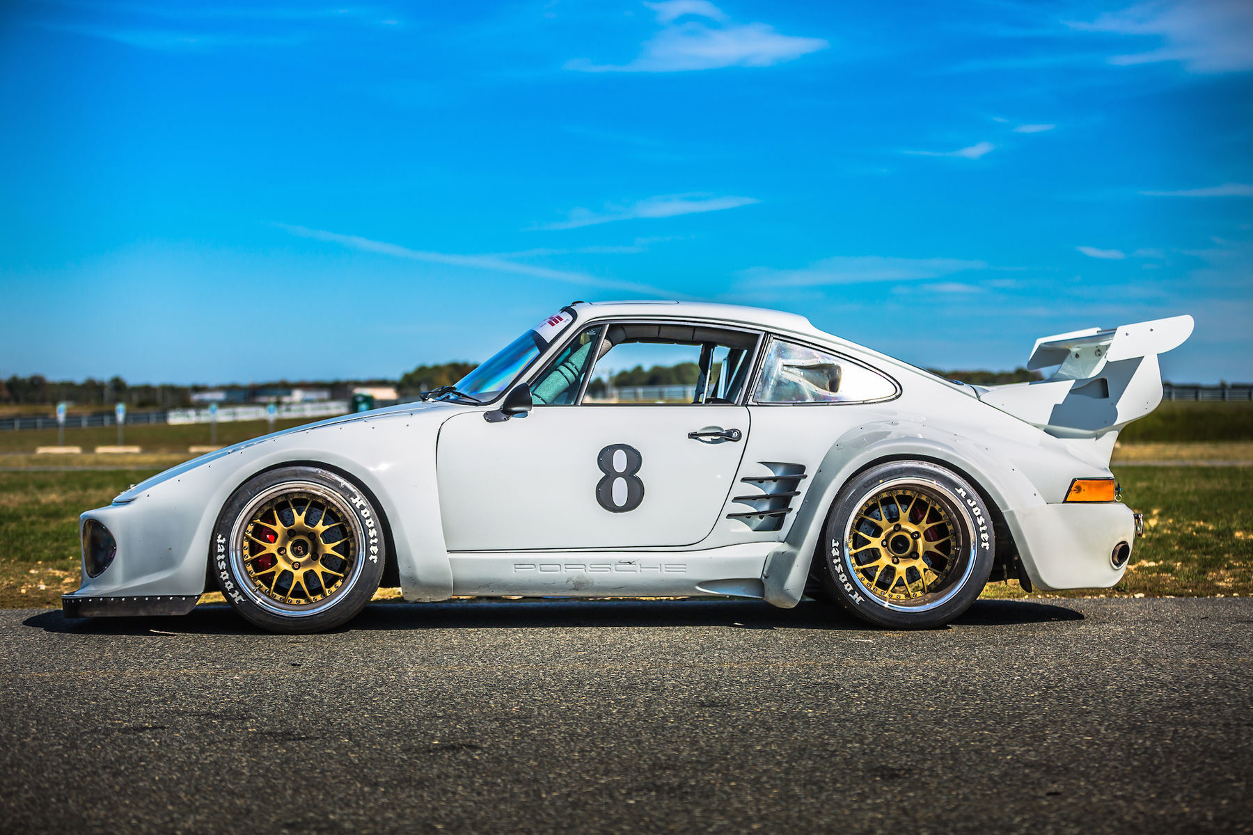 1983 Porsche 911 | Mick Cote's Porsche 911 Turbo Slant Nose on Forgeline WC3R Wheels