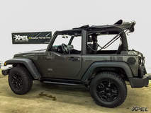 XPEL Austin wrapped this Jeep with XPEL STEALTH satin-finish clear bra
