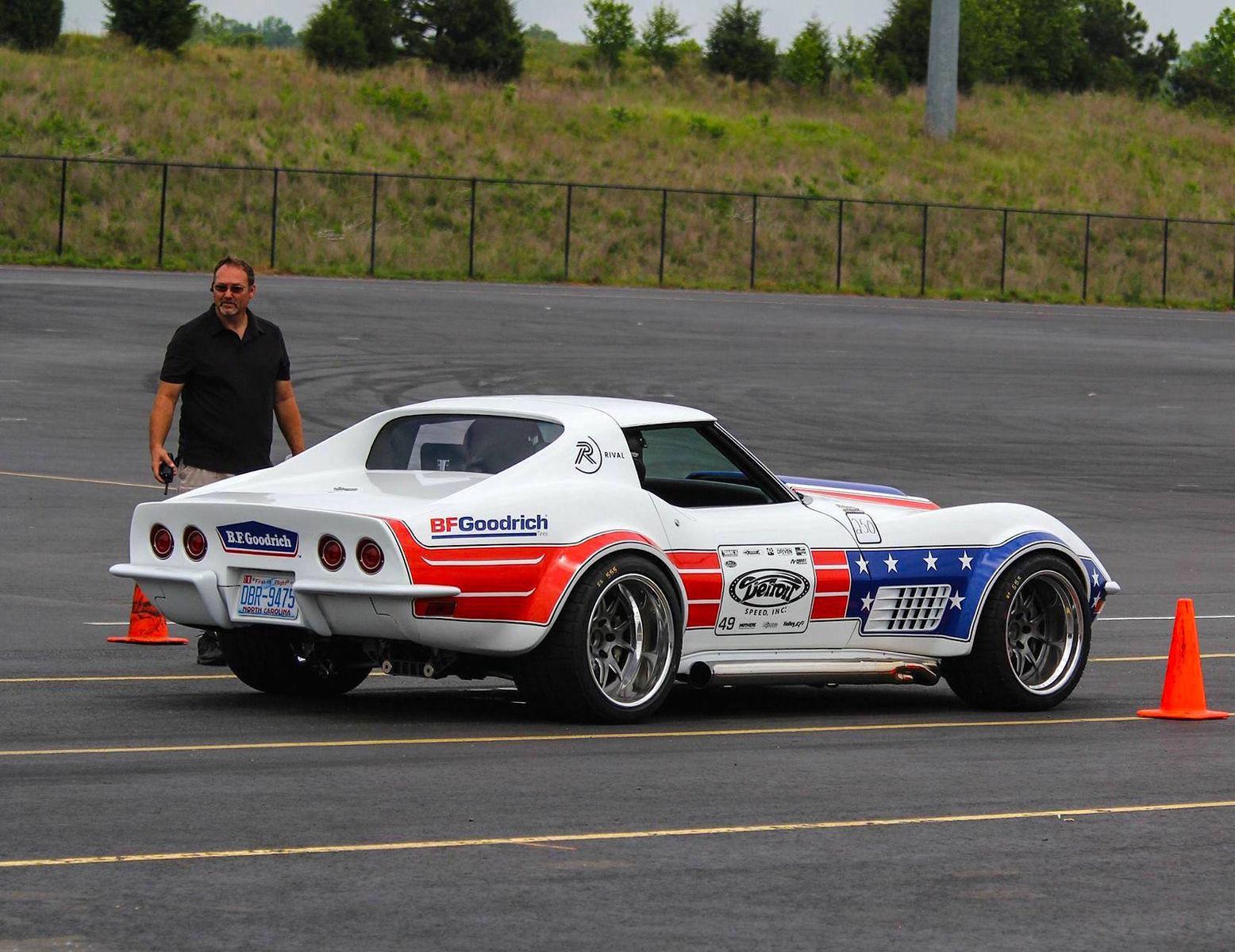 1972 Chevrolet Corvette Stingray | Detroit Speed's 1972 Corvette Development Vehicle on Forgeline GA3 Wheels
