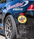 Ken Thwaits' Camaro Z/28 on Forgeline One Piece Forged Monoblock GA1R Open Lug Cap Edition Wheels