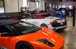 Few beautiful exotics in the garage