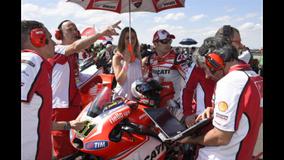 MotoGP Round 3 - Argentina - Pirro on the grid