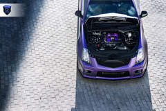Matte Purple Cadillac CTS-V - Engine