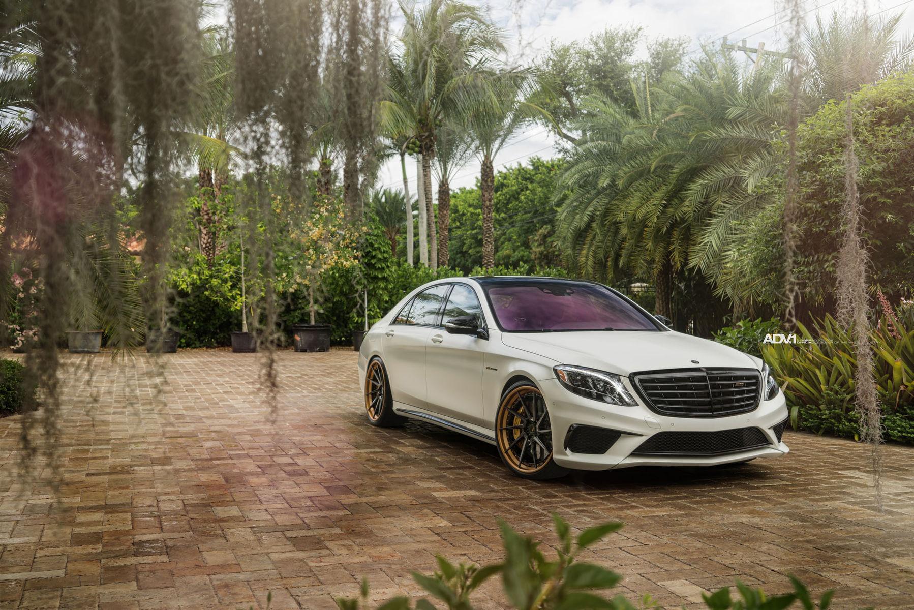 Mercedes-Benz S-Class | ADV.1 Mercedes S63 AMG Sedan