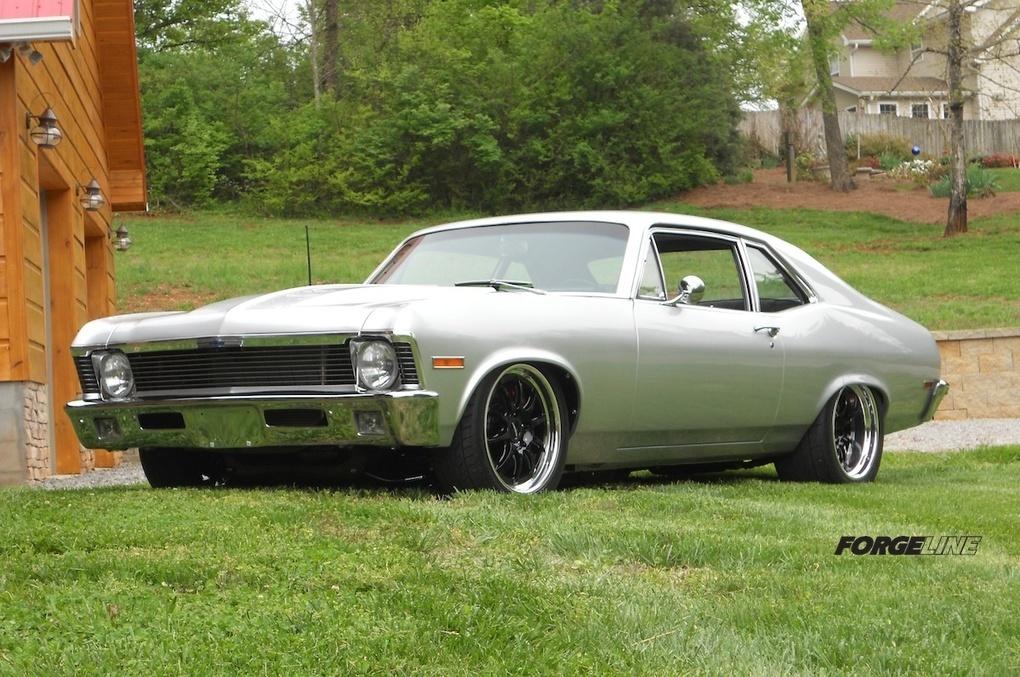 1970 Chevrolet Nova | Bryan Jenkin's 1970 Nova on Forgeline GZ3 Wheels