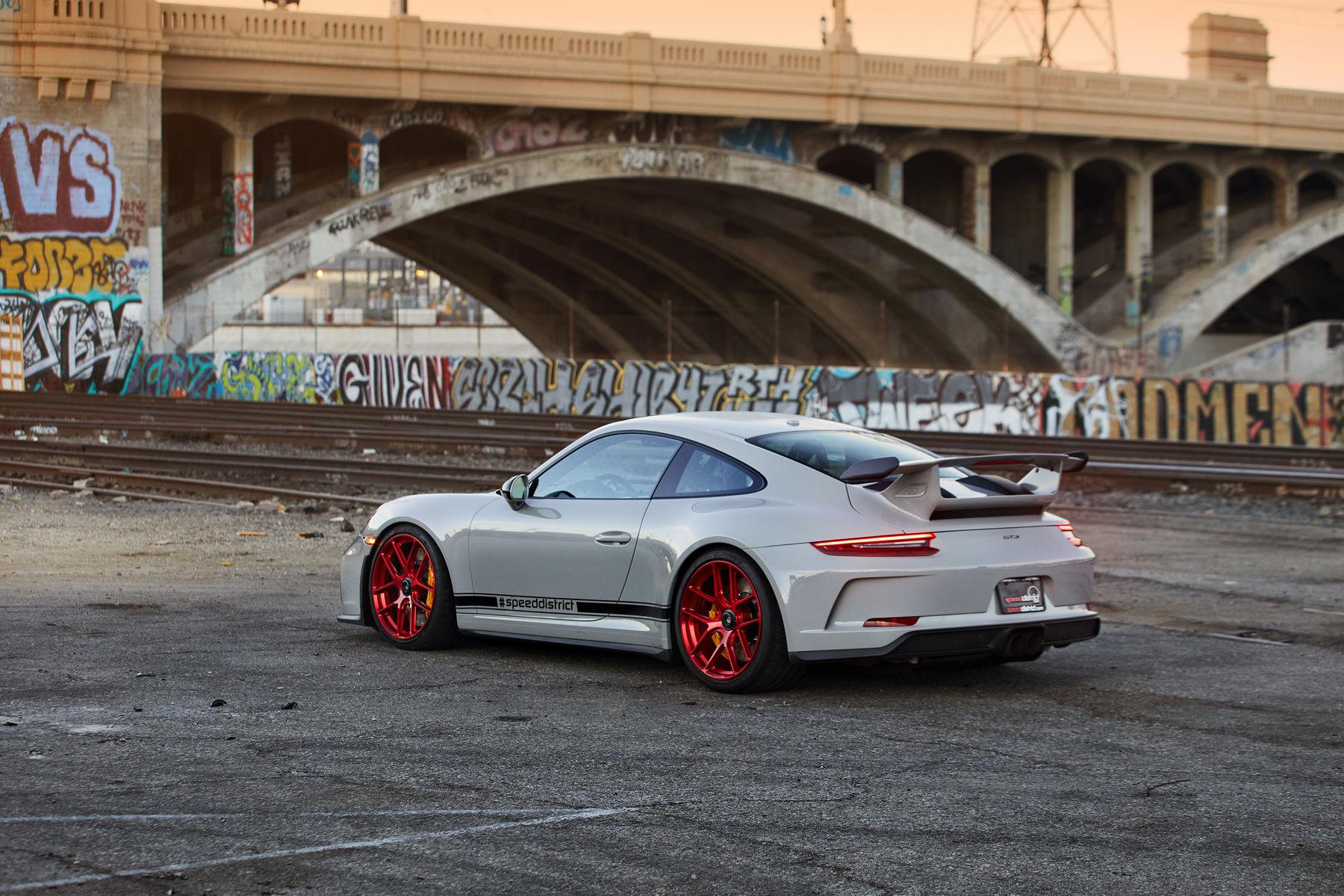 2018 Porsche 911 | Josh Shokri's Porsche 991.2 GT3 on Forgeline One Piece Forged Monoblock VX1R Wheels