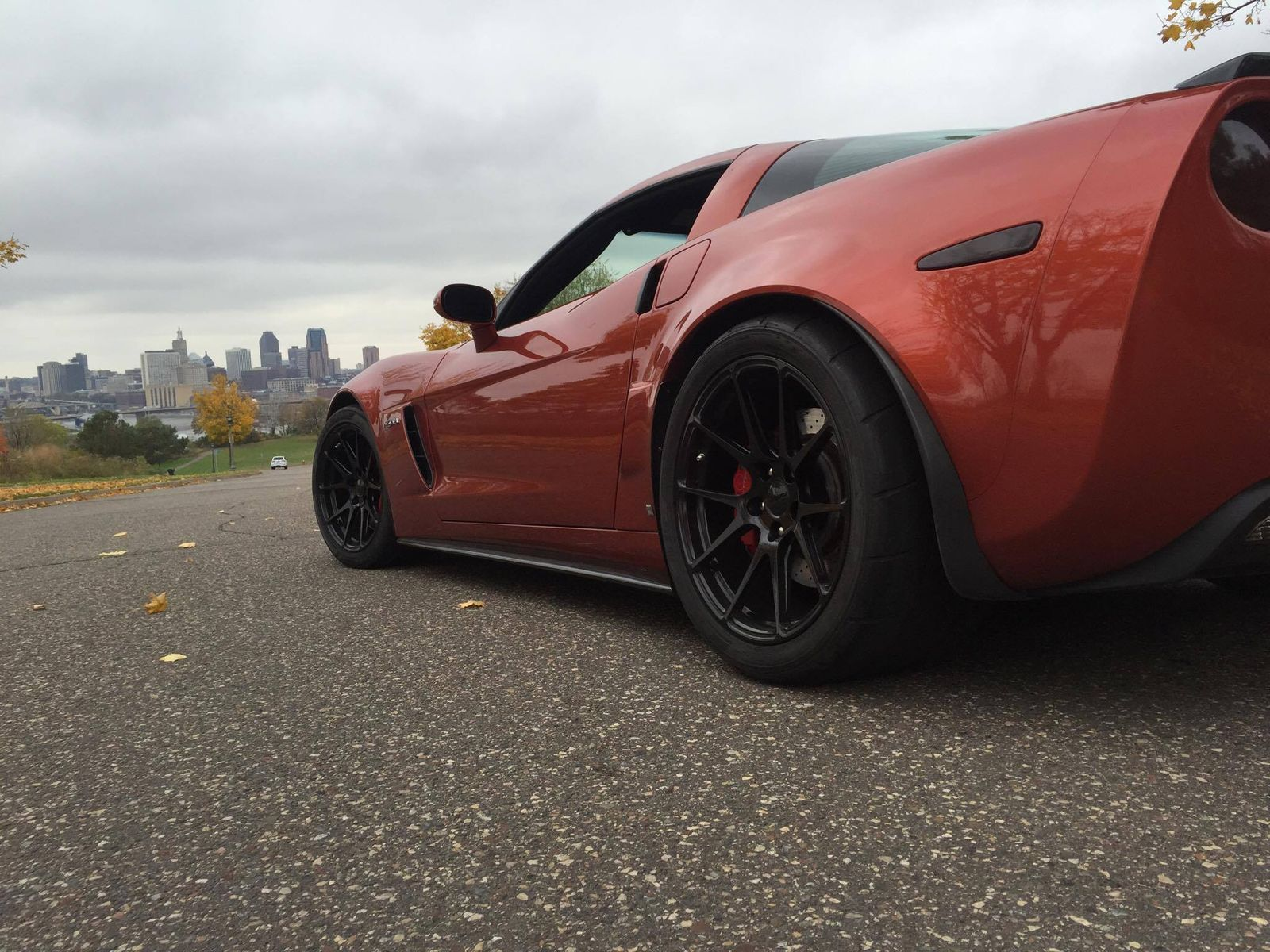 2006 Chevrolet Corvette | Joe Garofalo's C6 Corvette Z06 on Forgeline One Piece Forged Monoblock GA1R Wheels