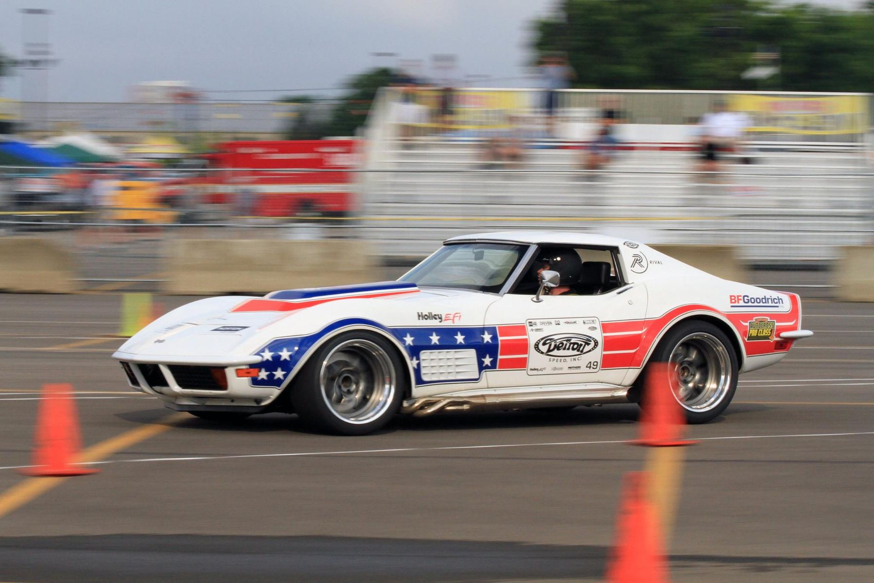 1972 Chevrolet Corvette Stingray | Ryan Mathews Wins Goodguys PPG Nationals Autocross in the Detroit Speed C3 Corvette on Forgeline GA3 Wheels
