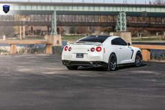 White GTR (Godzilla) - Rear Shot