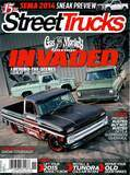 Fast N Loud 1965 Chevy C-10 Pikes Peak Pace Truck on the Cover of Street Trucks Magazine