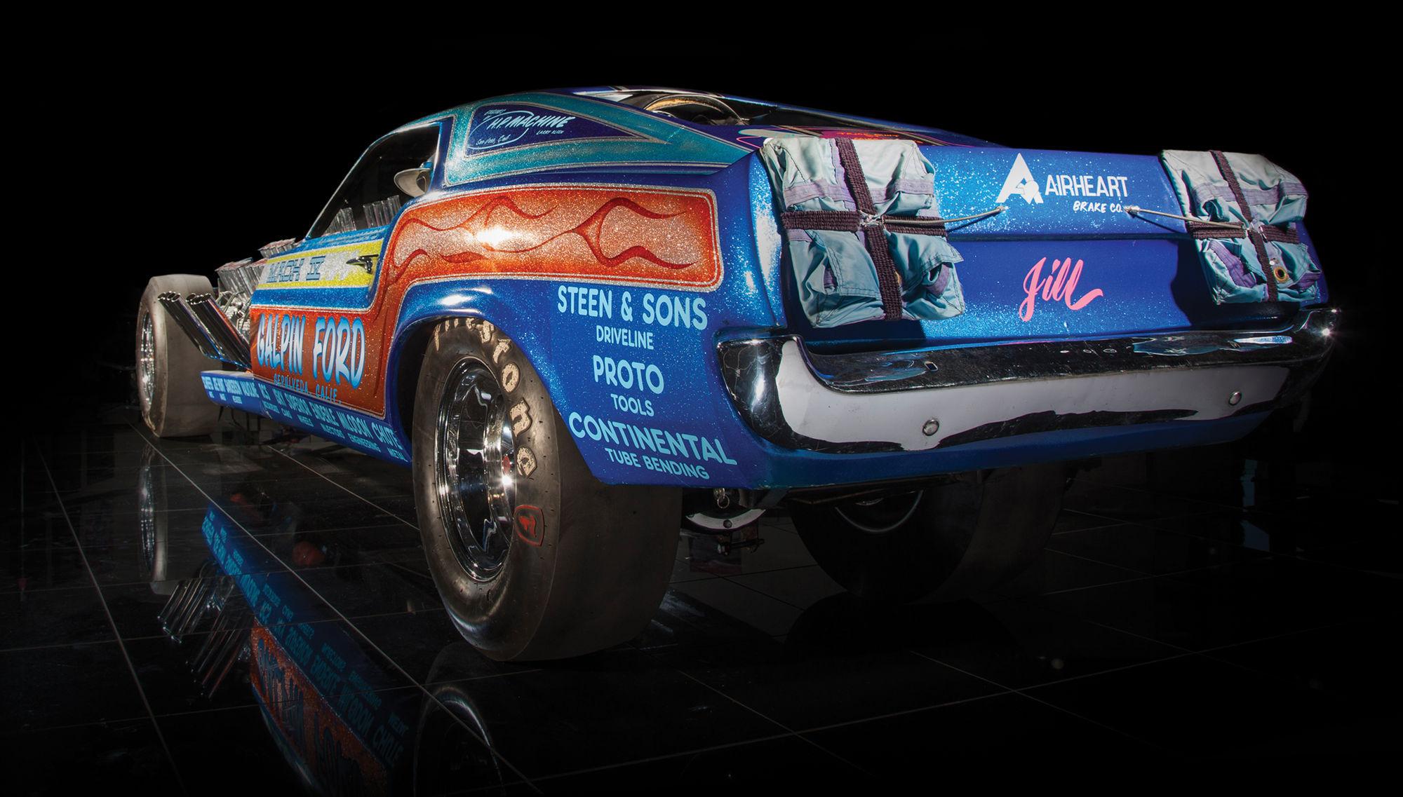 Ford  | Gary Weckesser's Mach IV 4 Engine Mustang Rear