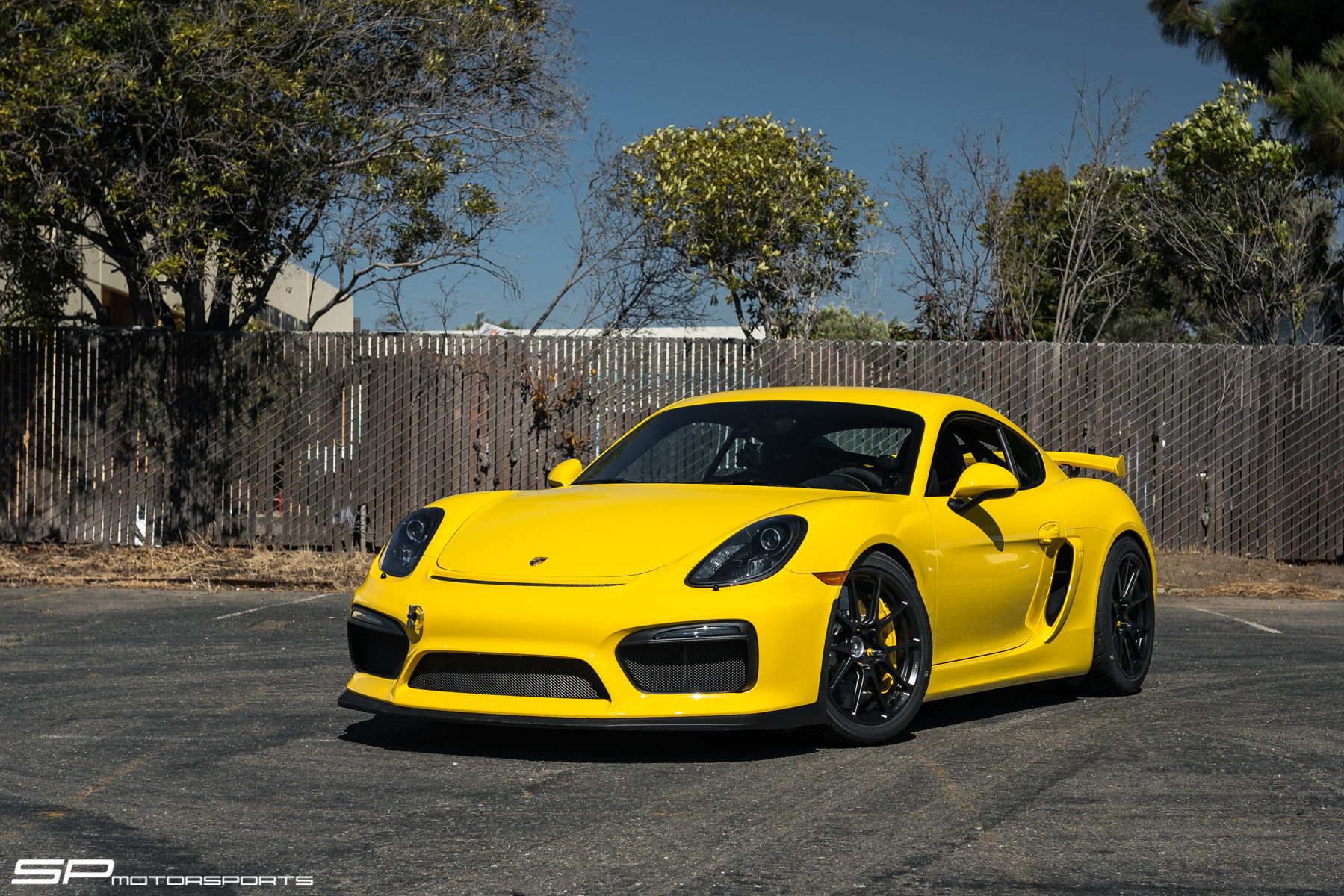 2016 Porsche Cayman | SP Motorsports' Porsche Cayman GT4 on Forgeline One Piece Forged Monoblock GS1R Wheels
