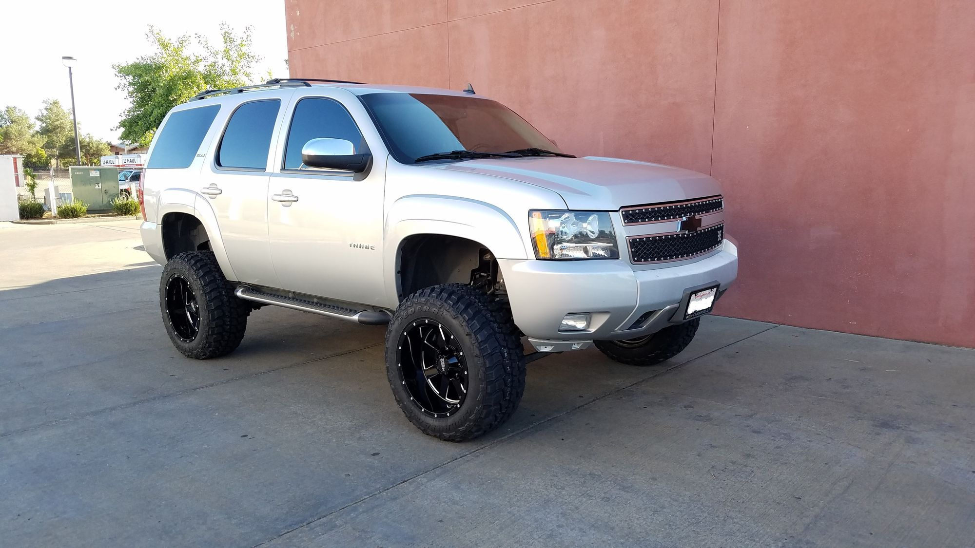 Lifted 7 5 Inch Chevy Tahoe