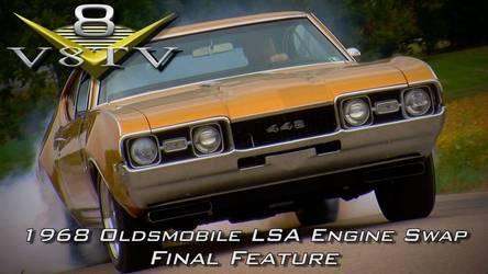 1968   | 1968 Oldsmobile Cutlass Supercharged 6.2 LSA Engine Install Swap Video Part 6 V8TV