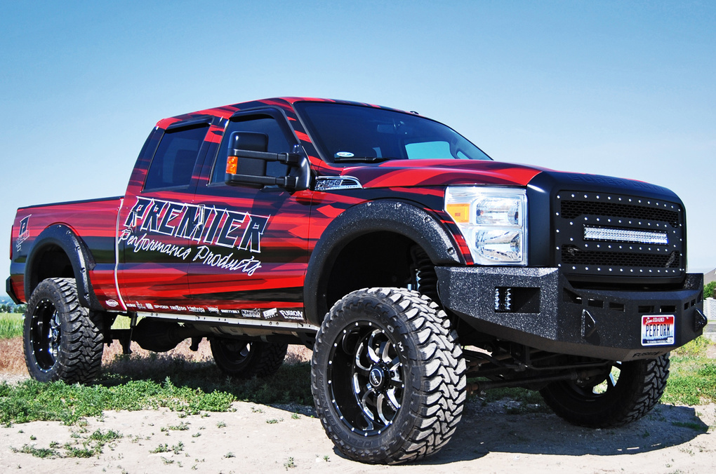 Ford  | Rigid Industries LED Grillle – Ford F-250 2011-2015
