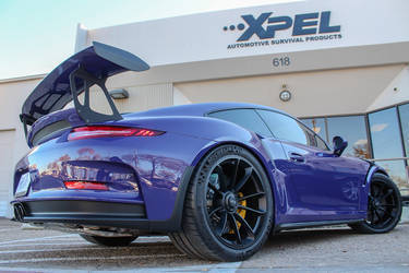 2016 Porsche 911 | Installing XPEL ULTIMATE on the Porsche GT3RS