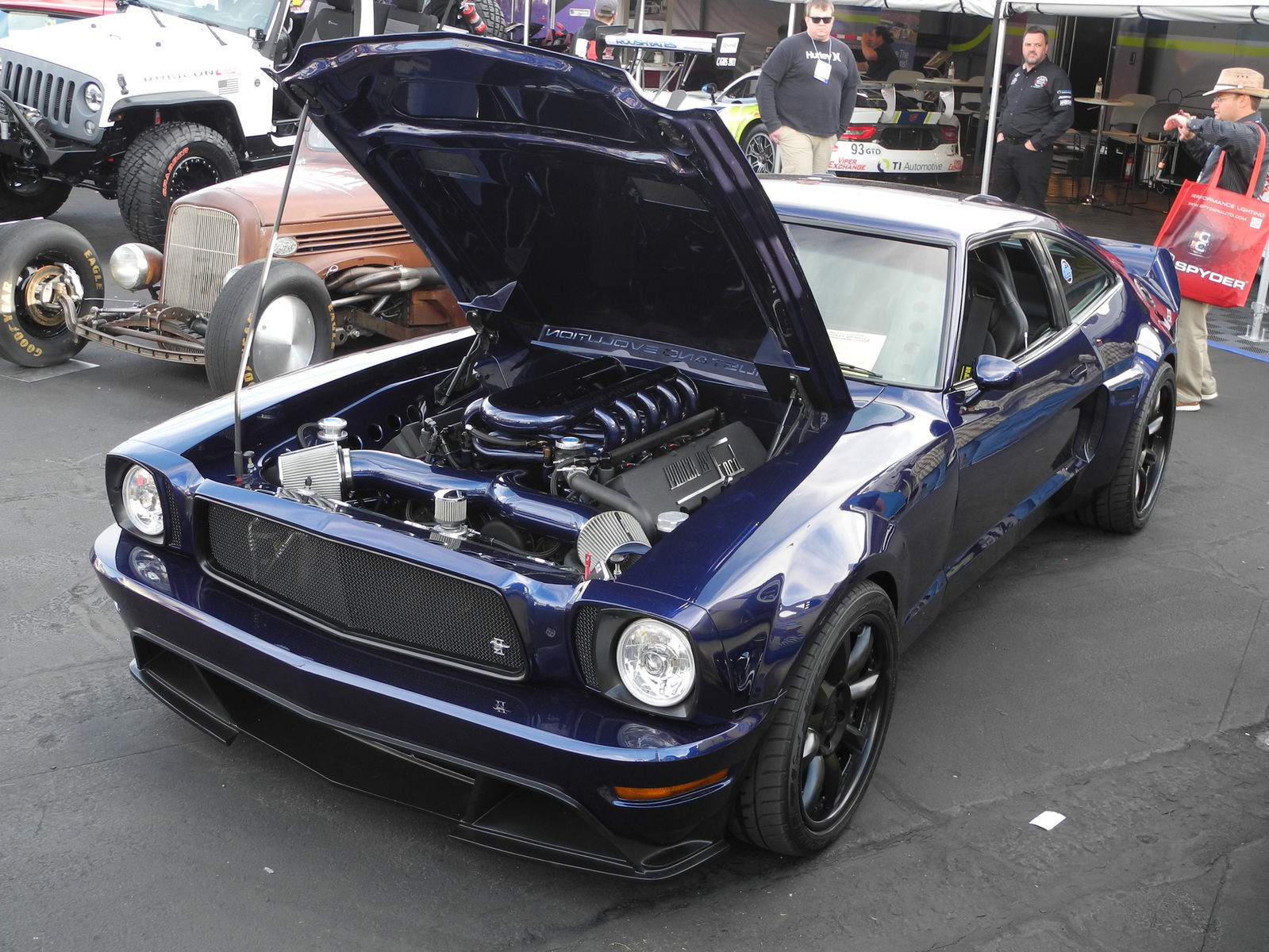 1978 Ford Mustang | Brett Behrens' Triton V10-Powered
