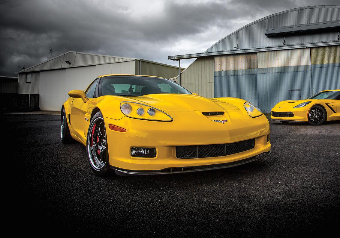 2006 Chevrolet Corvette Z06 | Mike's 1000+HP Twin Turbo C6 Corvette Z06 on Forgeline SP3P Wheels