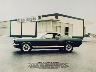 1966 Ford Mustang | 1966 Shelby GT350 S