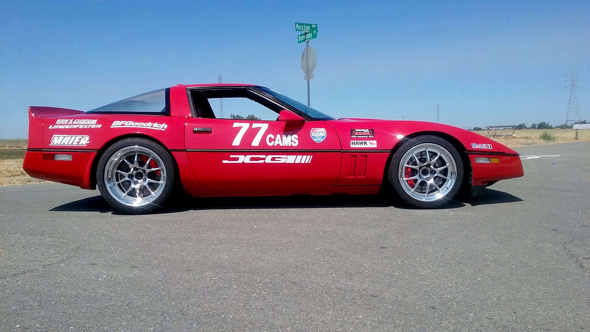 1989 Chevrolet Corvette | Kenny Mitchell's '89 Corvette on Forgeline GA3R Wheels