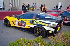 Rich Willhoff's C6 Corvette Z06 on Forgeline One Piece Forged Monoblock GTD1 5-Lug Wheels
