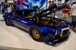 "Roadster Shop ""Road Rage"" Camaro on Center Locking Forgeline LS3C Concave Wheels"