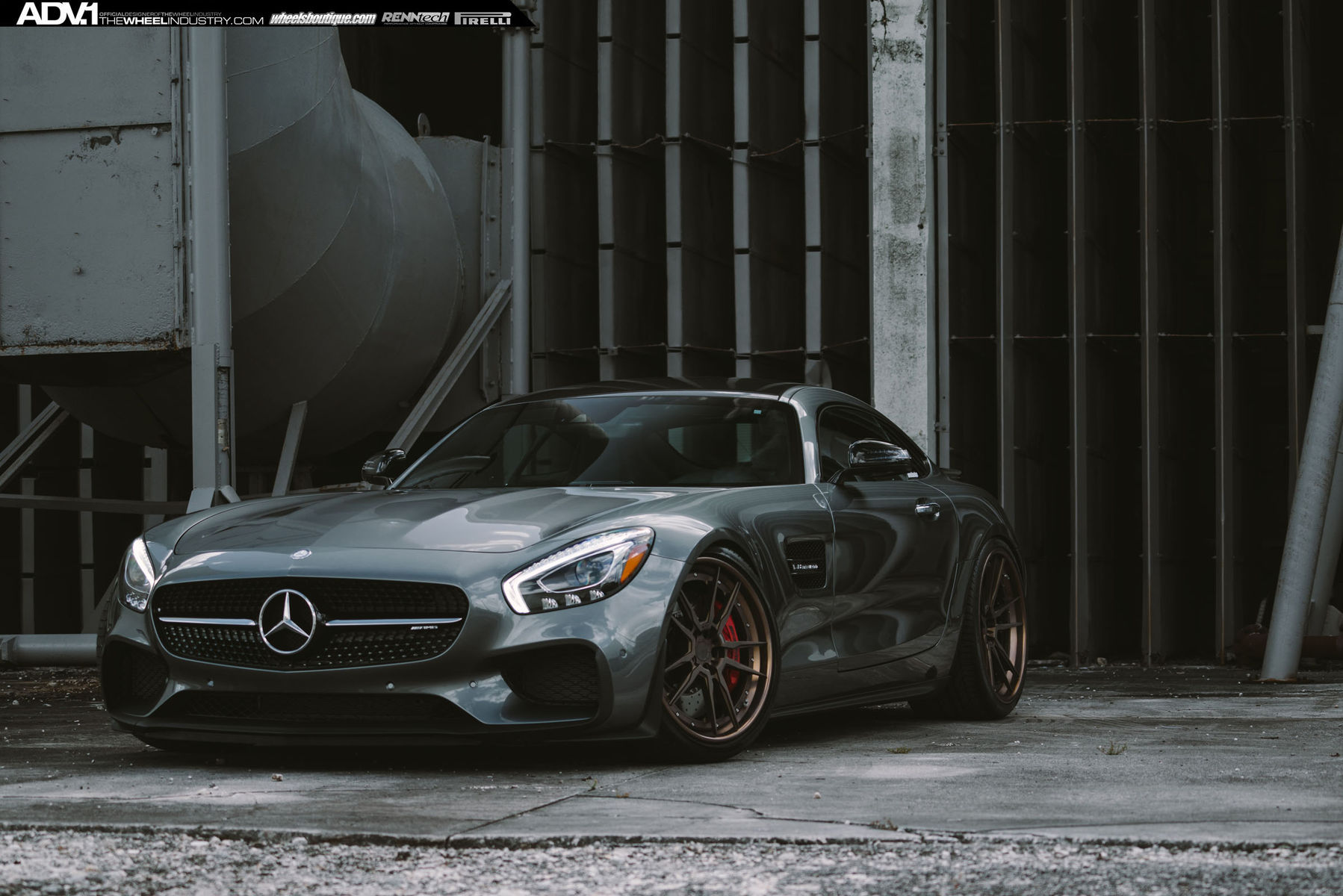 2016 Mercedes-Benz  | ADV1 Mercedes AMG GT-S Edition 1