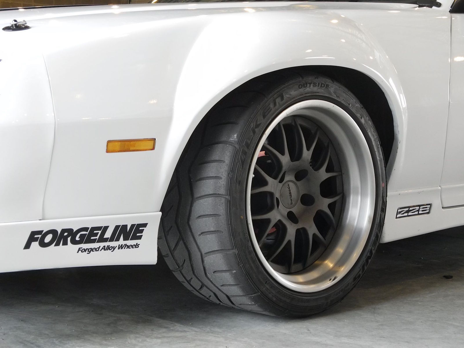 1989 Chevrolet Camaro | Camaro Z28 on Forgeline GW3 Wheels
