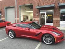 Beautiful Chevy Stingray in for XPEL ULTIMATE