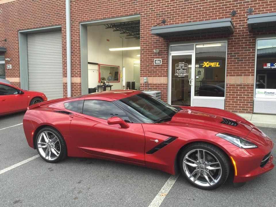 Chevrolet  | Beautiful Chevy Stingray in for XPEL ULTIMATE