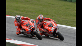 2013 MotoGP - San Marino - side by side