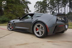Daniel Baker's C7 Corvette Z06 on Forgeline CF3C Concave Wheels