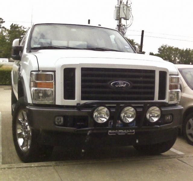 Ford F-250 Super Duty   N-FAB DRP Light Cage