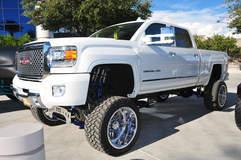 American Force Wheels SEMA 2015 - GMC Monster