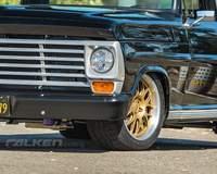 Derek Brown's '67 Ford F100 Pickup on Forgeline GX3P Wheels - Spokes