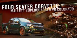 Mallett Cars Supercharged 750HP Chevy Colorado on Forgeline MS3C Wheels Featured at TheBlock.com