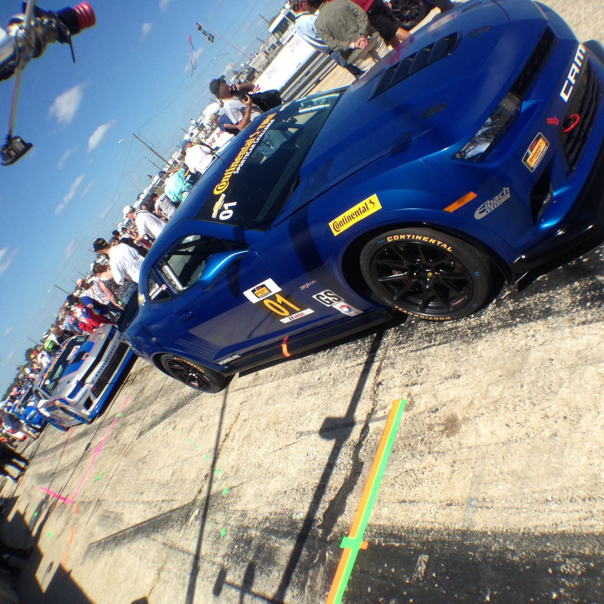 2014 Chevrolet Camaro   CKS Autosport and Stevenson Motorsport Camaro Z28s on the Grid at Sebring
