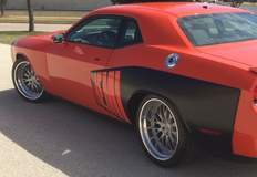 Challenger on Forgeline MD3S Wheels