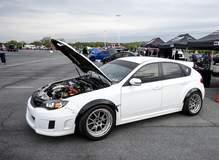 Subaru WRX STi on Forgeline GA3R Wheels