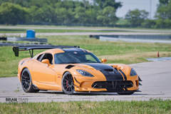 JD Hertweck's Dodge Viper ACR Extreme on Forgeline One Piece Forged Monoblock GTD1-Viper Wheels - On Track