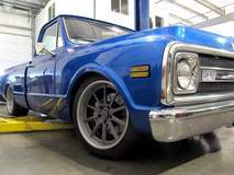 Chris Holstrom Concepts Chevy C-10 Truck on Forgeline RB3C Wheels